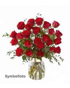 roter Rosen Blumenstrauss
