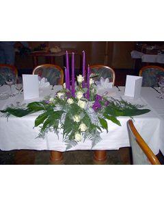 Hochzeits Haupt- Tischgesteck